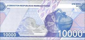 Usbekistan / Uzbekistan 10.000 Sum 2021 (1)