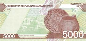 Usbekistan / Uzbekistan 5000 Sum 2021 (1)