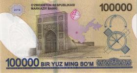Usbekistan / Uzbekistan P.neu 100.000 Sum 2019 (1)