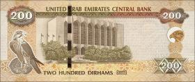 VAE / United Arab Emirates P.31d 200 Dirhams 2017 (1)