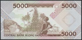 Vanuatu P.04 5000 Vatu (1989) (1) Central Basnk