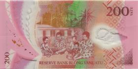 Vanuatu P.12 200 Vatu (2014) (2)