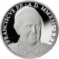 Vatikan 5 Euro 2013 Weltfriedenstag + 10 Euro 2013 Weltgebetstag (Silber)