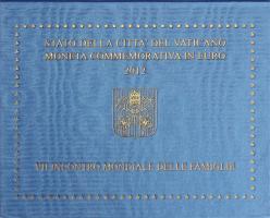 Vatikan 2 Euro 2012 Weltfamilientreffen