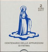 Vatikan 2 Euro 2017 Erscheinung der Fatima PP