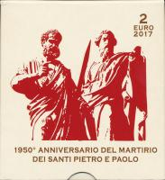 Vatikan 2 Euro 2017 St. Peter und Paul PP