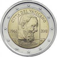 Vatikan 2 Euro 2018 50. Todestag Pater Pio