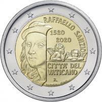 Vatikan 2 Euro 2020 500. Todestag Raffael