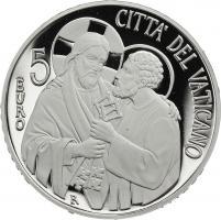 Vatikan 5 Euro 2013 Papst Franziskus (Silber)