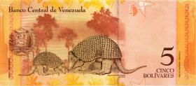 Venezuela P.89 5 Bolivares 2009 (1)