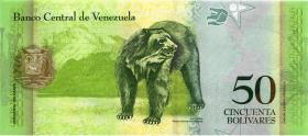Venezuela P.92c 50 Bolivares 2011 (1)