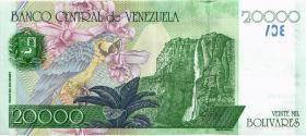 Venezuela P.82 20000 Bolivares 1998 (1)