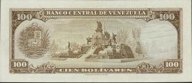 Venezuela P.48j 100 Bolivares 1973 (1)