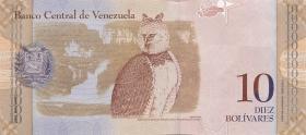Venezuela P.90a 10 Bolivares 20.3.2007 (1)