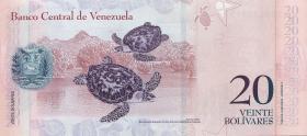 Venezuela P.91a 20 Bolivares 2007 (1)