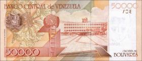 Venezuela P.87c 50000 Bolivares 2006 (1)