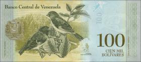 Venezuela P.neu 100.000 Bolivares 2017 (1)