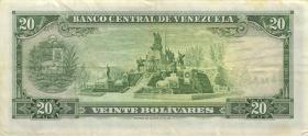 Venezuela P.46e 20 Bolivares 1974 (3)