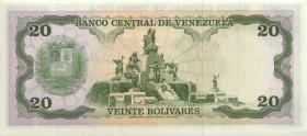 Venezuela P.53b 20 Bolivares 1977 (1)