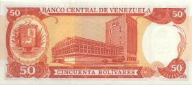 Venezuela P.65b 50 Bolivares 1988 (1)