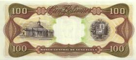 Venezuela P.66c 100 Bolivares 1990 (1)