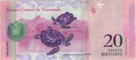 Venezuela P.91e 20 Bolivares 3.2.2011 (1)
