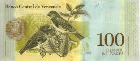 Venezuela P.100b 100.000 Bolivares 13.12.2017 (1)