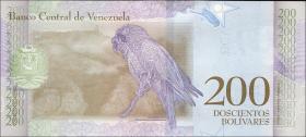 Venezuela P.107b 200 Bolivares 13.3.2018 (1)