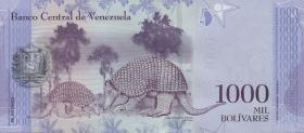 Venezuela P.95a 1000 Bolivares 2016 (1)