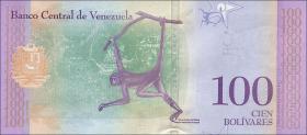 Venezuela P.neu 100 Bolivares 18.5.2018 (1)