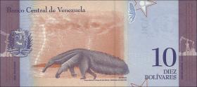 Venezuela P.neu 10 Bolivares 15.1.2018 (1)