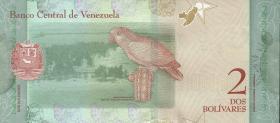 Venezuela P.101a 2 Bolivares 15.1.2018 (1)