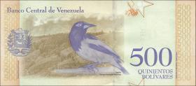 Venezuela P.108c 500 Bolivares 18.5.2018 (1)