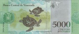 Venezuela P.neu 5000 Bolivares 2016 (1)