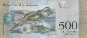 Venezuela P.94a 500 Bolivares 2016 (1)