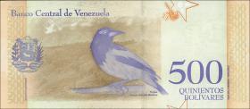 Venezuela P.108a 500 Bolivares 15.1.2018 (1)