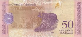Venezuela P.105a 50 Bolivares 15.1.2018 (1)