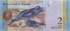 Venezuela P.88f 2 Bolivares 29.10.2013 (1)