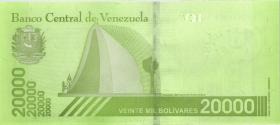 Venezuela P.110a 20000 Bolivares 22.1.2019 (1)