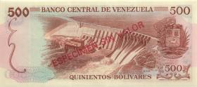 Venezuela P.56s 500 Bolivares (1971-72) (1)