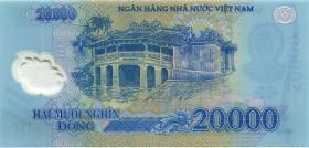 Vietnam / Viet Nam P.120b 20000 Dong (2007) Polymer (1)