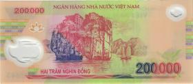 Vietnam / Viet Nam P.neu 200.000 Dong (20)18 Polymer (1)