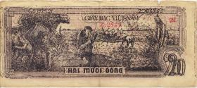 Vietnam / Viet Nam P.026 20 Dong (1948) (4)