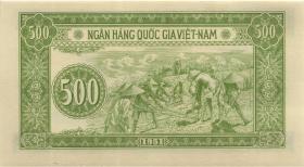 Vietnam / Viet Nam P.064 500 Dong 1951 (1)