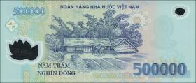 Vietnam / Viet Nam P.124m 500.000 Dong (20)17 Polymer (1)