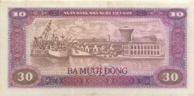 Vietnam / Viet Nam P.087 30 Dong 1987 (2)