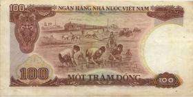 Vietnam / Viet Nam P.098 100 Dong 1985 (3)