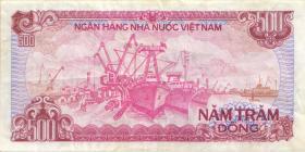 Vietnam / Viet Nam P.101a 500 Dong 1988 (3)