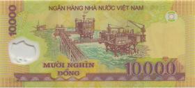 Vietnam / Viet Nam P.119r 10.000 Dong (2006) ZX Polymer (1)