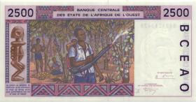 West-Afr.Staaten/West African StatesP.712Kc 2500 Francs 1994 (1)